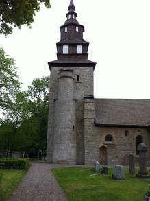 Örberga gamla kyrka - en av de äldsta i landet.